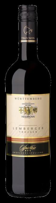 Heilbronner Lemberger, trocken, Spätlese