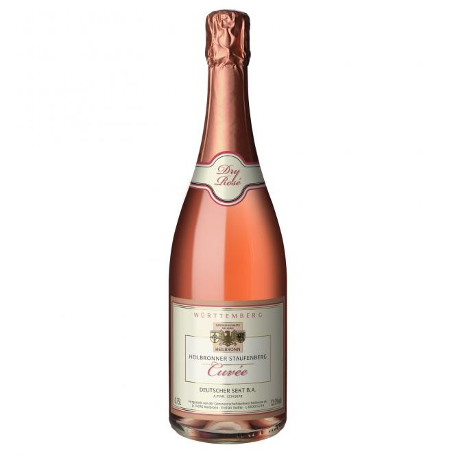 Heilbronner Rosé-Sekt, dry