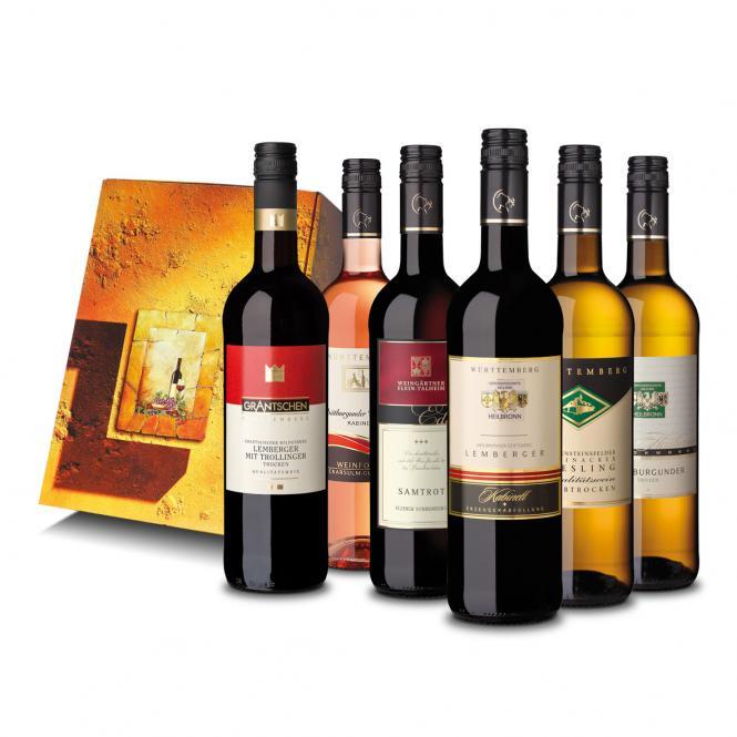 6er Geschenkpackung Weinschatzkeller