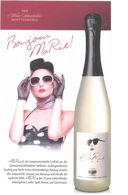 MaRie Blanc, weinhaltiger Cocktail