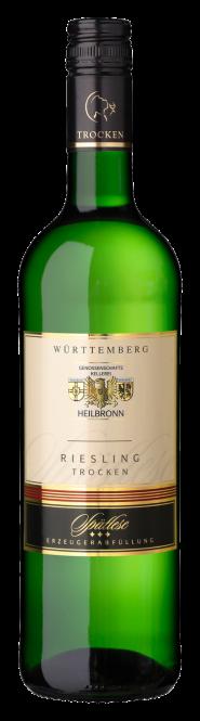 Heilbronner Riesling, trocken, Spätlese
